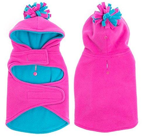 - Top Paw Pink & Blue Fleece Pet Dog
