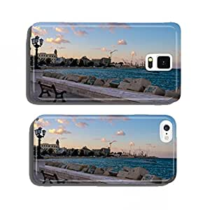 Bari: view of seaside (Apulia, Italy) cell phone cover case Samsung S5