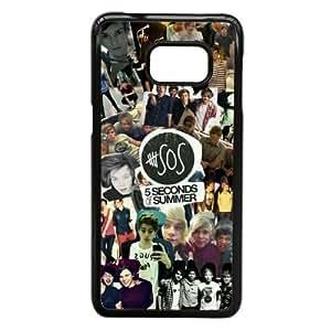 Samsung Galaxy S6 Edge Plus case (TPU), 5 s o summer Cell phone case Black for Samsung Galaxy S6 Edge Plus - FFFG4160340