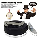 Biback Magic Kits and Accessories for Coin Disappearance Coin Disappearing Device Magic Props
