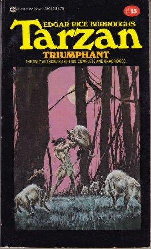 book cover of Tarzan Triumphant