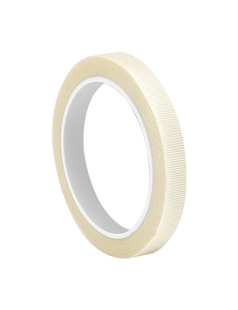 """3M 0.125-5-361 White Glass Cloth/Silicone Adhesive Electrical Tape, -65 Degrees F to 450 Degrees F, 5 yd Length, 0.125"""" Width"""