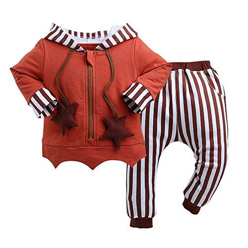 - WisBiBi 2Pcs Boys Beaver Winter Hooded Coats Warming Outwear Clothes Sets
