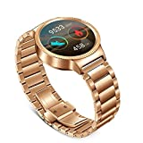 Huawei Watch Gold Plated Stainless Steel with Gold Plated Stainless Steel Link Band [No US Warranty]