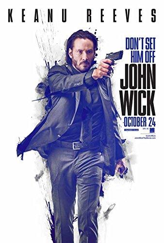 John Wick Movie Poster 27 X 40 Style C 2014 Unframed