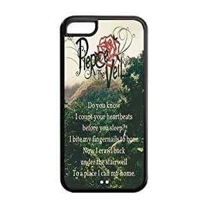 Fashion Pierce the Veil Personalized iPhone 5C Rubber Gel Silicone Case Cover