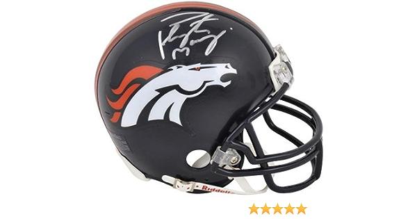 Autographed College Mini Helmets Peyton Manning Tennessee Volunteers Autographed Riddell Mini Helmet