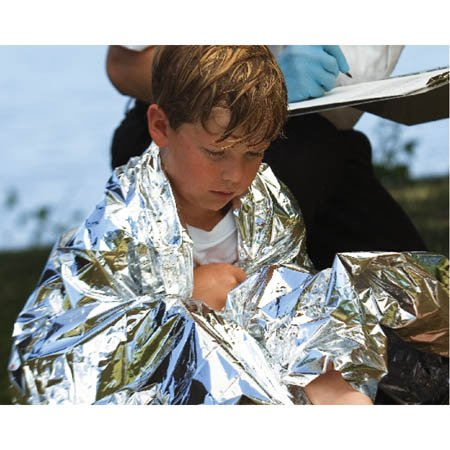 Graham Medical Products Ems Space Blanket - Model 53377 - Case of 50