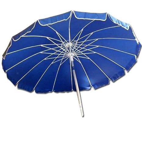 Ombrelloni Ombrellone da spiaggia 220 cm ombrellone giardino blu Arredamento da giardino