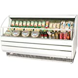 Turbo Air TOM75S 75 Open Display Merchandiser with Modern Design Environmental Friendly Refrigeration System Glass Sides Anti-Rust Coating High Density PU Insulation and Improved Air Flow:
