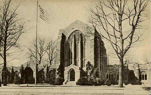 (Washington Memorial Chapel Valley Forge, Pennsylvania Original Vintage Postcard)
