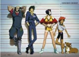 Officially Licensed Cowboy Bebop: Group Key Art Wall Scroll, 33 x 44 Inches by Cowboy Bebop