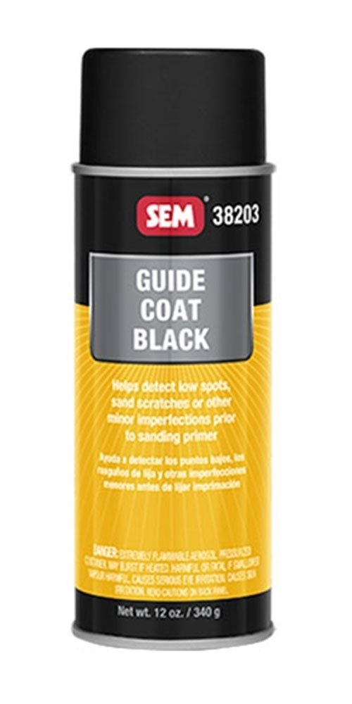 SEM 38203 Black Guide Coat - 12 oz.