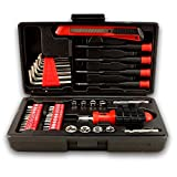 bogo Brands 44pc Compact Tool Set with Storage Case