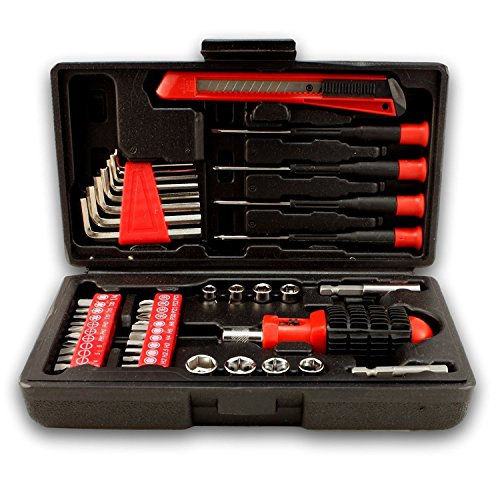 bogo brands 44pc compact tool set with storage case screwdrivers automotive parts. Black Bedroom Furniture Sets. Home Design Ideas
