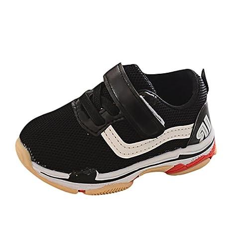 PAOLIAN Verano Cómodo Zapatos para Bebé para Niña y Niños Rejilla Zapatos de Niñito Antideslizante Encantador