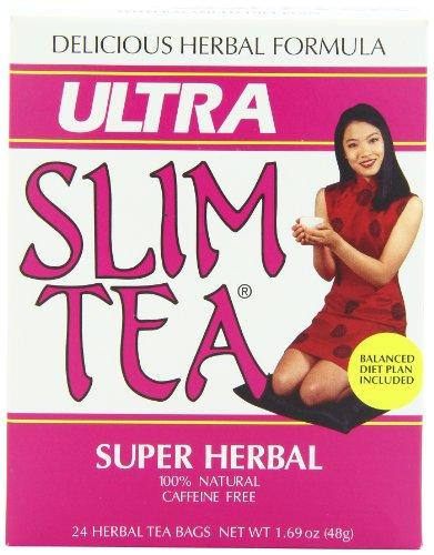 Ultra Slim Tea, Super Herbal, Tea Bags, 24 Count -
