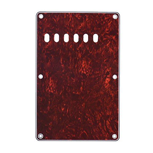ammoon Pickguard Back Plate Tremolo Cavity Cover Vintage Style Backplate for Fender Stratocaster Strat ST Standard Modern Style Electric Guitar - Backplate Guitar