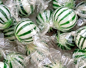 (Jumbo Spearmint Balls: 120 Count)