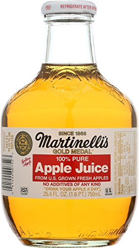 Martinellis Apple Juice - 25.4 Oz Pack -- 12 Case