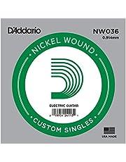 Daddario Nw036 Elektro Ve Akustik Tek Tel, 5Li Paket, (La), Nicke