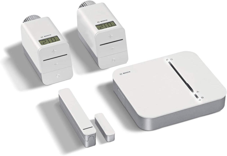 Kit Chauffage Connecté Bosch Smart Home (Centrale Domotique avec 2 Thermostats Radiateurs...