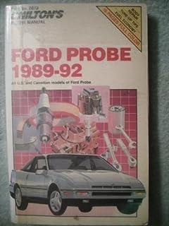 1989 ford probe online shop manua