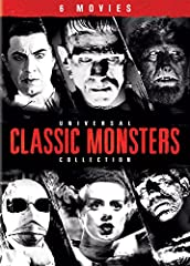 From the era of silent movies through present day, Universal Pictures has been regarded as the home of the monsters. The Universal Classic Monsters Collection showcases 6 of the most iconic monsters in motion picture history including Dracula...