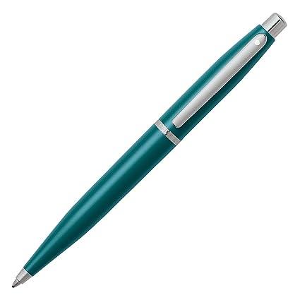 Bol/ígrafo de punta redonda color azul acabado niquelado, tinta azul Sheaffer VFM Series