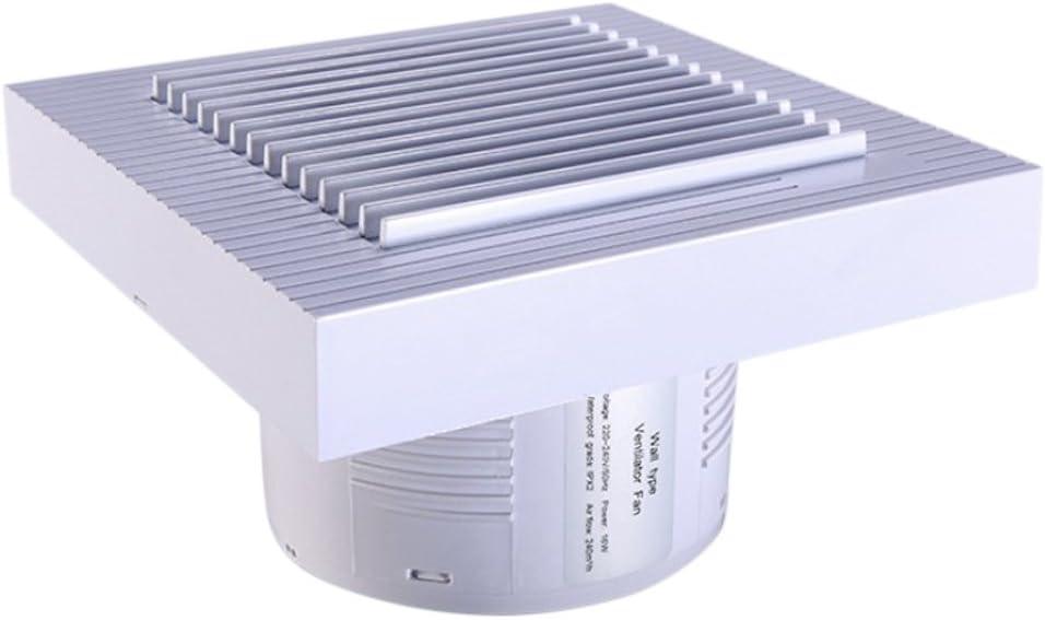 3 Gr/ö/ßen 6 Zoll Badl/üfter Wandl/üfter Wandventilator Ventilator f/ür K/üche Badezimmer