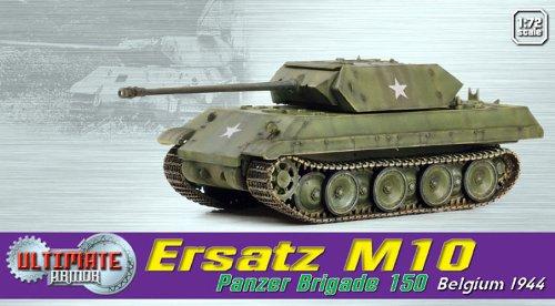 Dragon Models Ersatz M10 Panzer Brigade 150 Belgium 1944 Ultimate Armor Building Kit, - Online Belgium