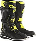 Alpinestars Men's Tech 1 Boots (Black/Yellow, Size 7)