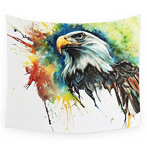 Abstract The Eagle Custom Polyester Wall Decor Tapestries Tapestry Wall Hanging For Bedding Room Living Room Dorm (40