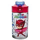 (US) Zak Designs PJMD-S730 PJ Masks Reusable Water Bottle, 15.5 oz, Stainless Steel