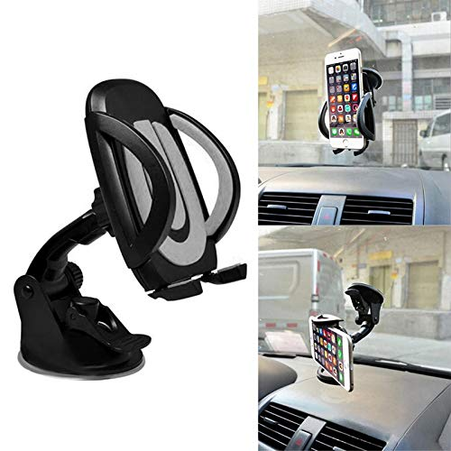 [ Daphot - Store ] - Universal 360 Car For Cell Phone GPS Windscreen Dashboard Mount Stand Holder