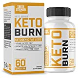 Extra Strength Ketogenic Fat Burner and Nootropic Supplement – Supports Healthy Weight Loss, Mental Focus & Clarity – L Theanine, Bacopa Monnieri & More – 60 Ct. – Sheer Strength Labs