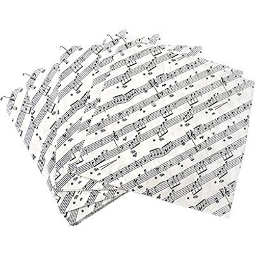 1 X Sheet Music Napkins