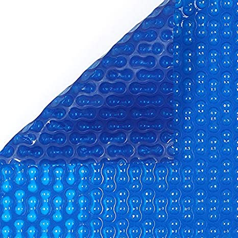 International Cover Pool Cobertor Solar Geo Bubble 2x2 Metros (Ribeteado o con orillo en Todo el Contorno) 500 micras Espesor Piscinas