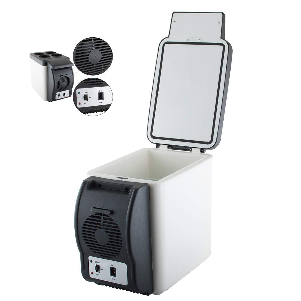 Careshine Mini Fridge Electric Cooler and Warmer (6 Liter / 6 Can Plus) :110v AC / 12V DC, For Car/Home /Kitchen/Junket/Outdoor