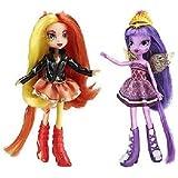 マイリトルポニー 人形セット My Little Pony Equestria Girls Sunset Shimmer and Twilight Sparkle Figures 並行輸入品