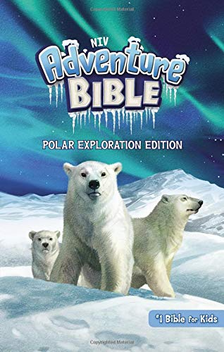 NIV, Adventure Bible, Polar Exploration Edition, Hardcover, Full Color