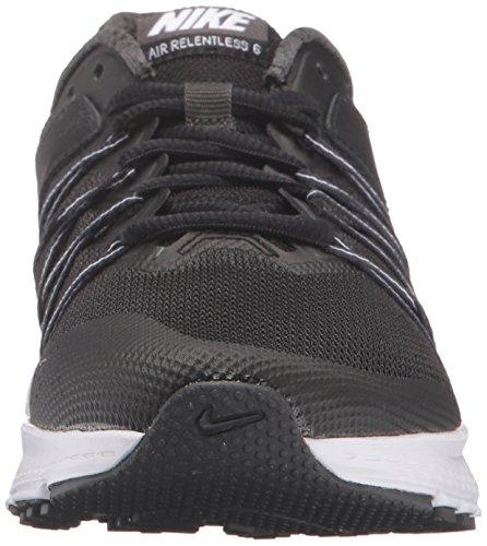 Nike Kvinnor Luft Obevekliga 6 Löparsko Svart / Vit Antracit