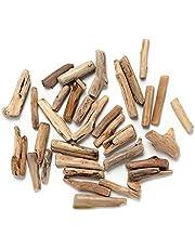 3 Pcs Aquarium Driftwood Natural Small Wooden Stick for Aquarium Fish Tank Decoration(Wood Color) durability
