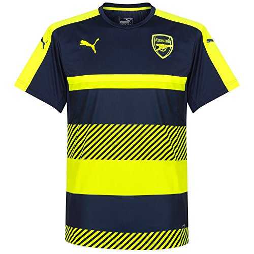 2016-2017 Arsenal Puma Training Jersey (Peacot-Yellow) -