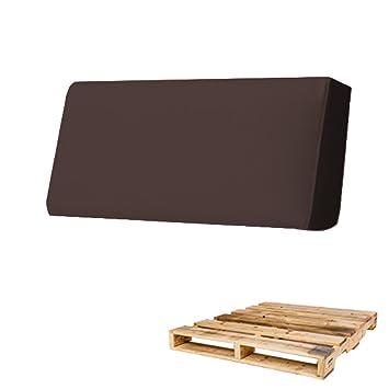 Arketicom Pallett One - Respaldo Cojin para Sofa hecho en Euro Palet - Polipiel con Funda