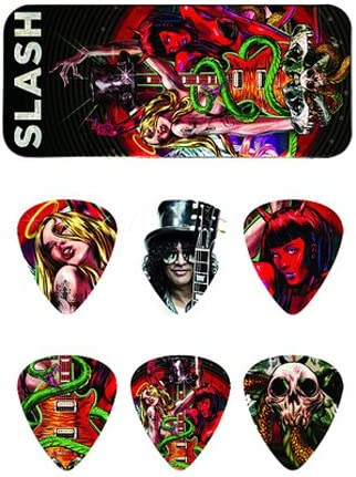 Pack de púas Dunlop Edtion limitada Slash (Guns N Roses): Amazon.es: Instrumentos musicales