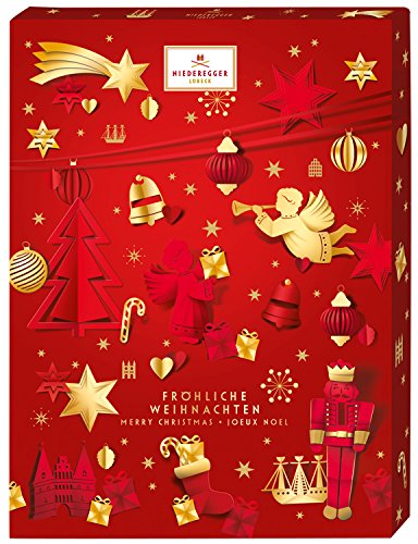Niederegger Marzipan Glamour Advent Calendar 500 G/17.6 Oz NEW