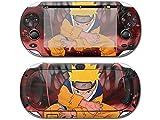 Uzumaki Naruto skin for psp vita 1000 console