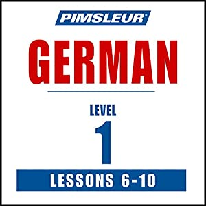 German Level 1 Lessons 6-10 Speech