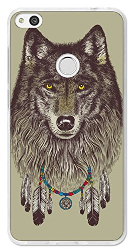 coque huawei y6 pro 2017 loup